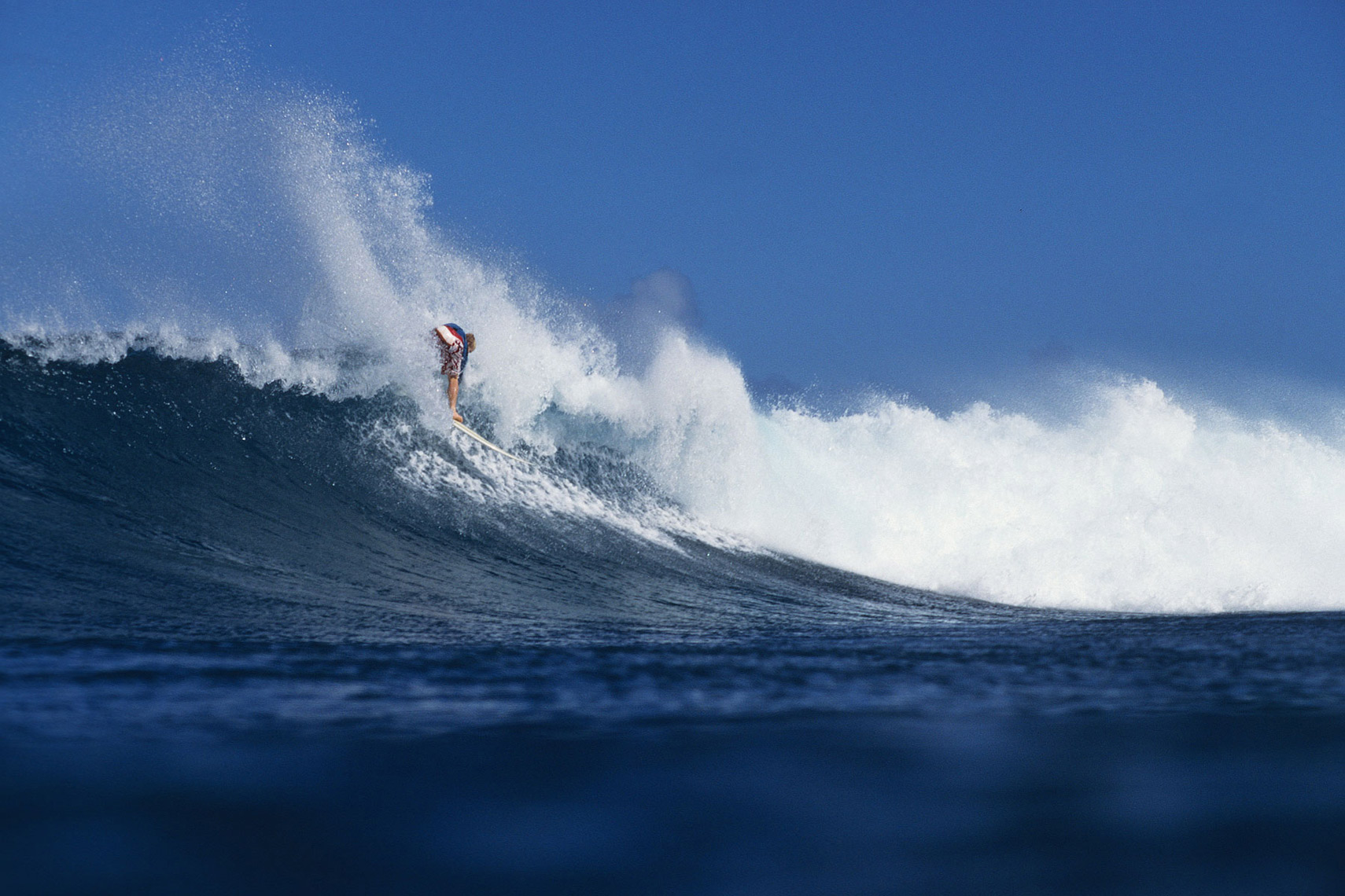 Water shot backdoor Hawaii